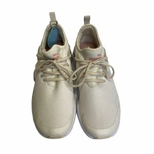 Puma Pacer Next Cage Glitter Running Shoes Sz 8